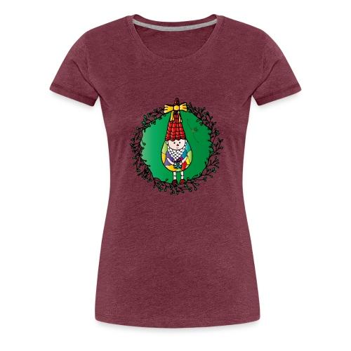 Weihnachtswichtel - Frauen Premium T-Shirt