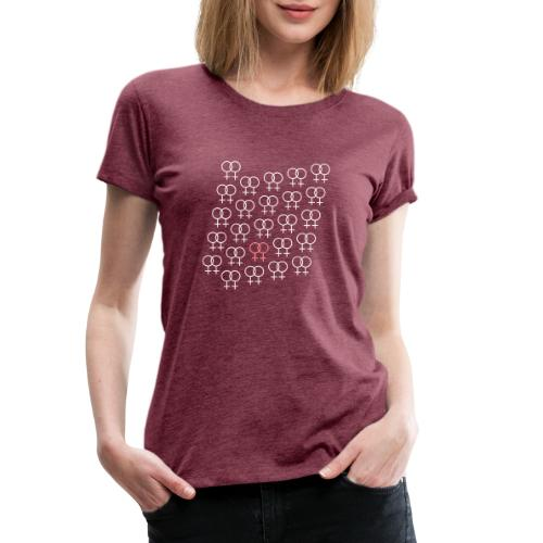 woman-symbol3 - Frauen Premium T-Shirt