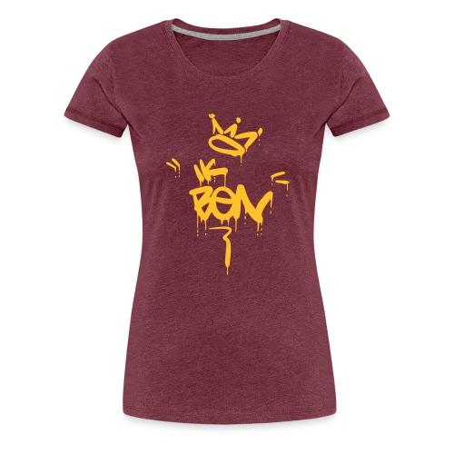 Ik ben - Vrouwen Premium T-shirt
