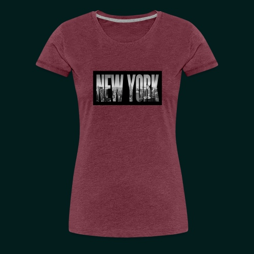 new-york-city-manhattan-overlook-melanie-viola - Premium-T-shirt dam