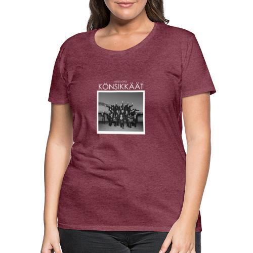 Könsikkäät - joulu saarella - Naisten premium t-paita