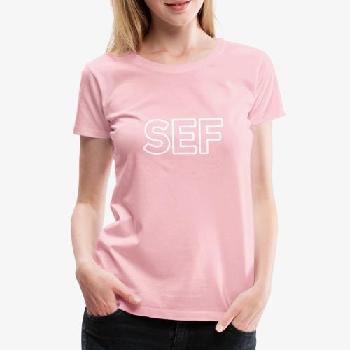 SEF 140% Vektor_Outline_W - Frauen Premium T-Shirt