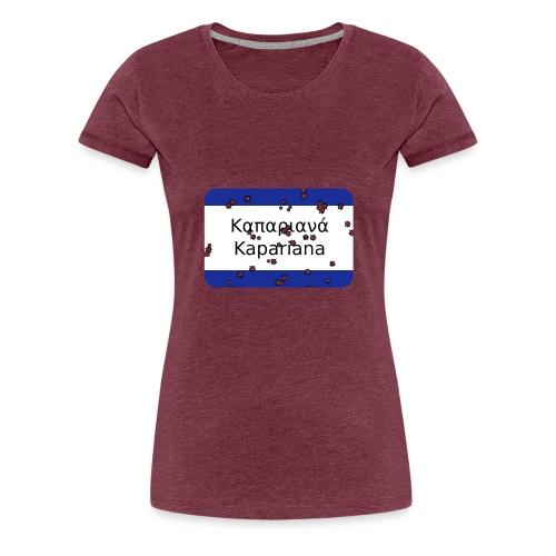 mg kapariana - Frauen Premium T-Shirt