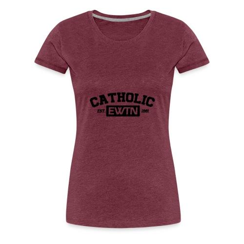 catholic ewtn - Frauen Premium T-Shirt