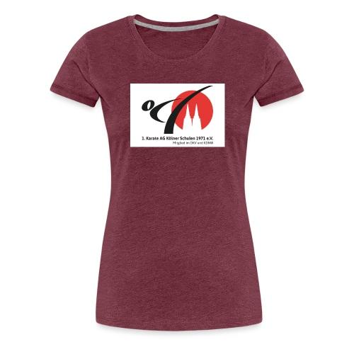Fanshop_Logo_Karate_Ag - Frauen Premium T-Shirt