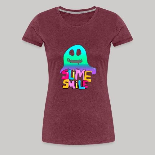 Schleimer Lächeln - Frauen Premium T-Shirt