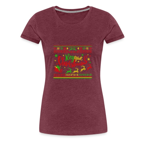 Reggae Christmas - Frauen Premium T-Shirt