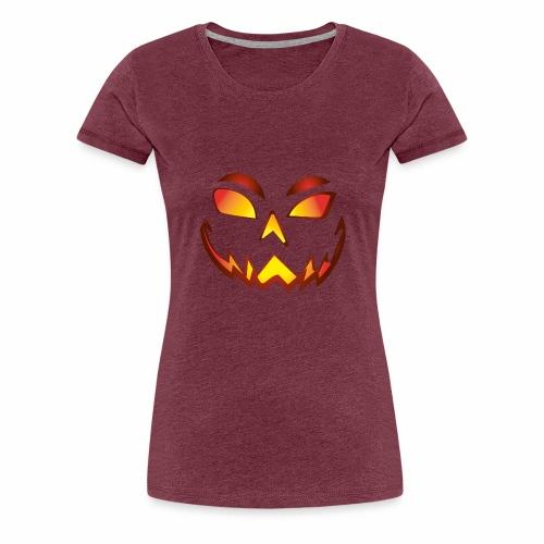 Halloween Face04 - Camiseta premium mujer
