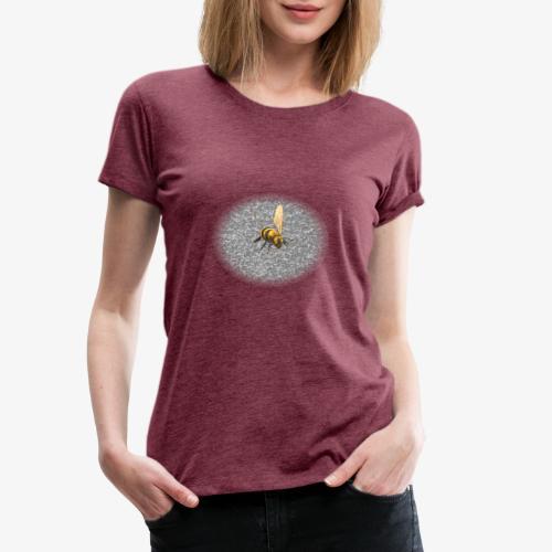 biene mit steienen - Frauen Premium T-Shirt
