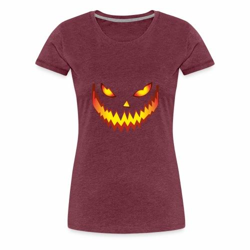 Halloween Face03 - Camiseta premium mujer