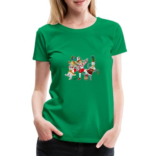 Köln Dreigestirn - Frauen Premium T-Shirt