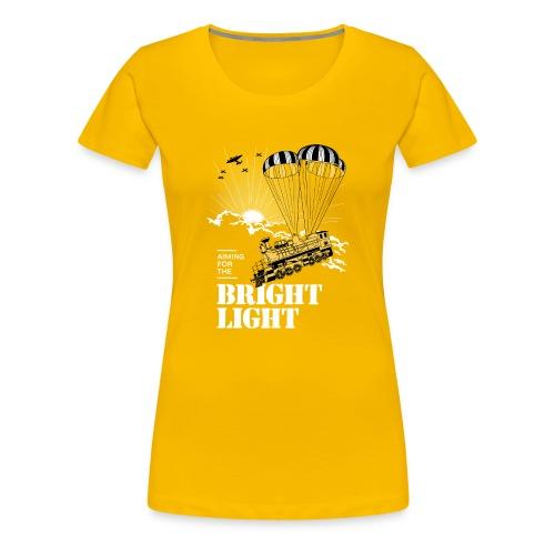 Bright Light - Dame premium T-shirt