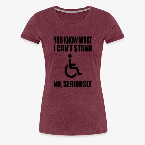 Canstand1 - Women's Premium T-Shirt