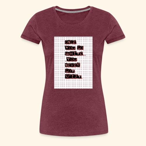 IMG 20190112 191143 - Vrouwen Premium T-shirt
