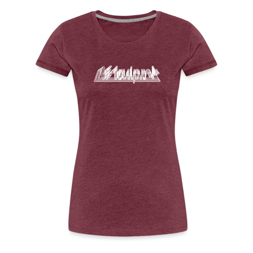 Afdruiprek - Vrouwen Premium T-shirt
