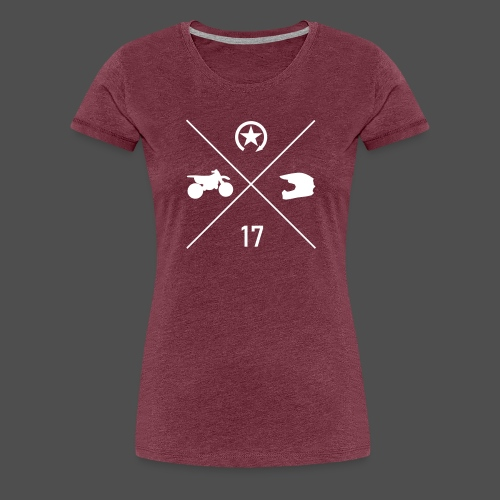 BIKE N HELMET 17 we - Women's Premium T-Shirt
