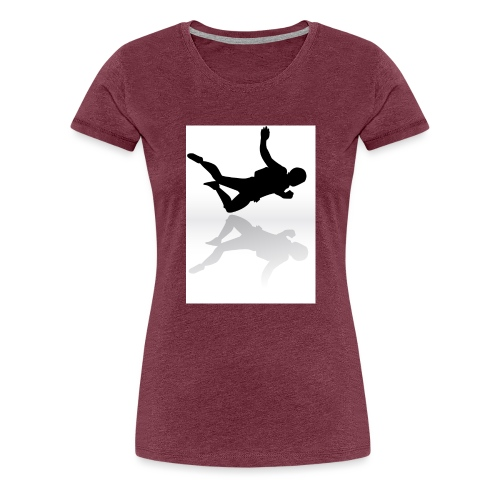 Paracaidista - Camiseta premium mujer