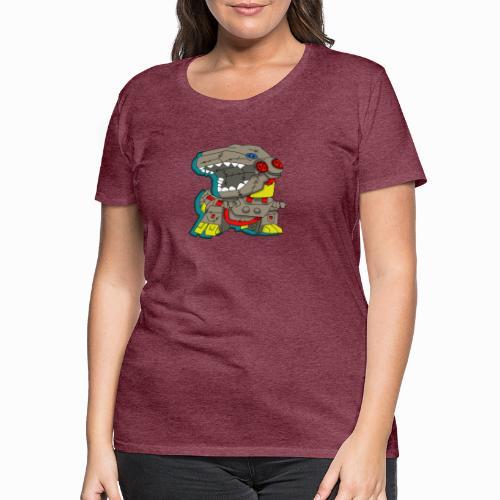 The Plushasaurus - Women's Premium T-Shirt
