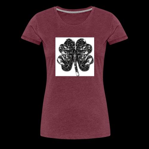 Czterolistna konczynka - Koszulka damska Premium