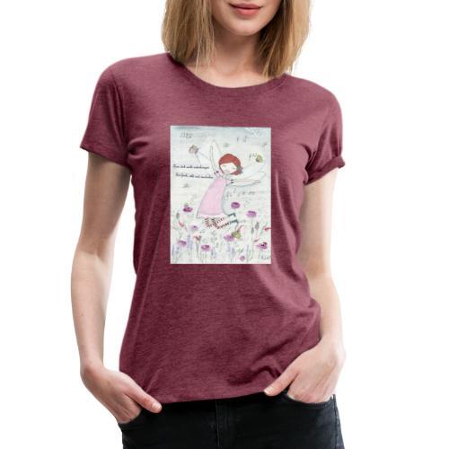 Blümchen Fee - Frauen Premium T-Shirt