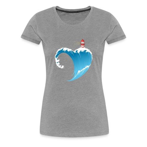 Ostseeherz - Frauen Premium T-Shirt