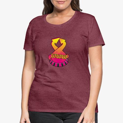 UrlRoulette logo - Women's Premium T-Shirt