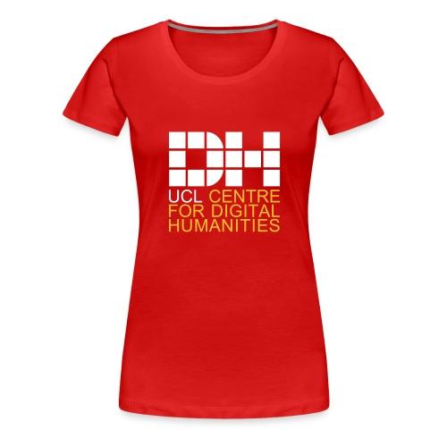 DH UCL captioned remix - Women's Premium T-Shirt