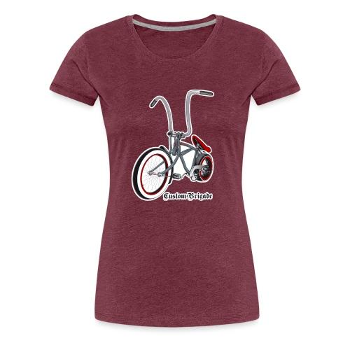 velo01 transparent - T-shirt Premium Femme