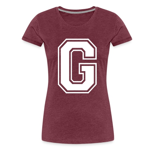 Grime Apparel G Grey Shirt. - Women's Premium T-Shirt