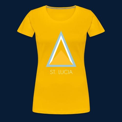 St. Lucia - Frauen Premium T-Shirt