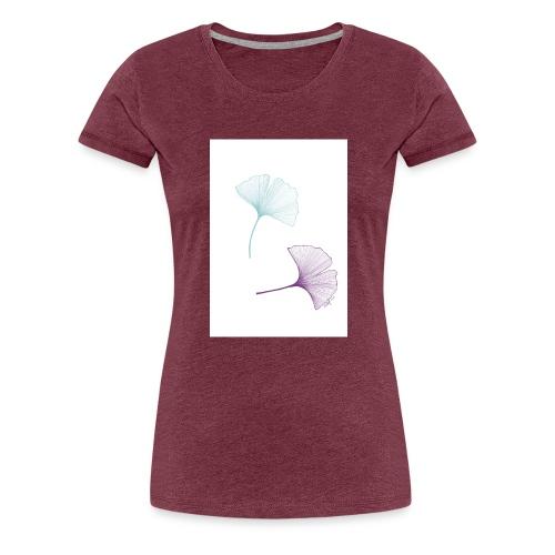 Blätter - Frauen Premium T-Shirt