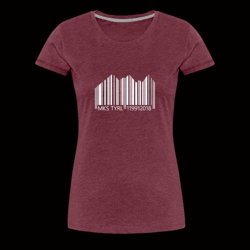 MKS LTD Barcode - Frauen Premium T-Shirt