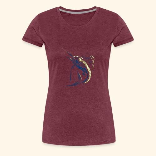 Poisson Voilier - T-shirt Premium Femme
