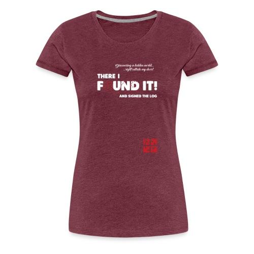 gcfoundit - Women's Premium T-Shirt