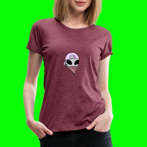 gangsta alien logo - Maglietta Premium da donna