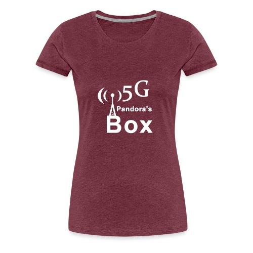 5G Pandora's box - Frauen Premium T-Shirt