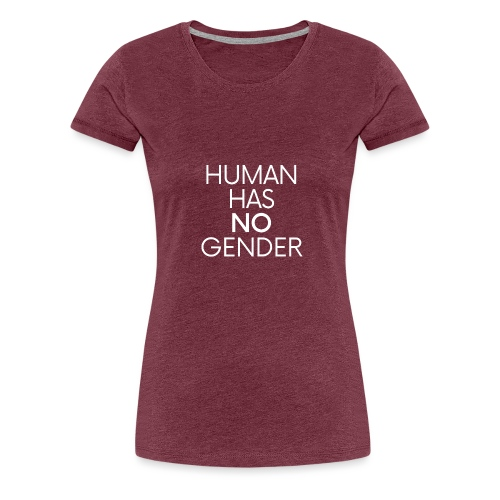 human has no gender 8 - Women's Premium T-Shirt