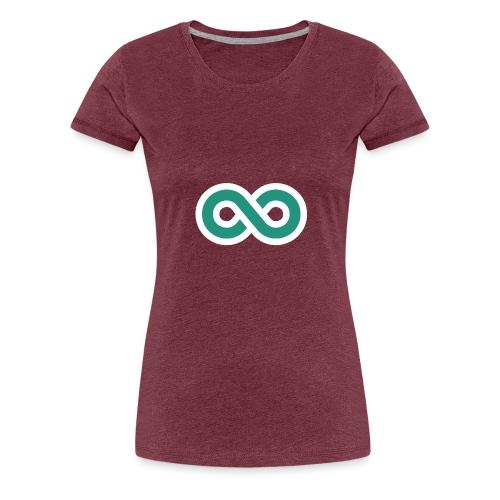 Unendlich Icon - Frauen Premium T-Shirt