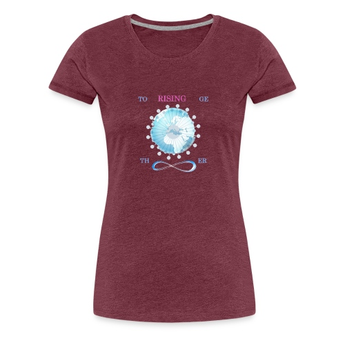 together earth rising new - Camiseta premium mujer