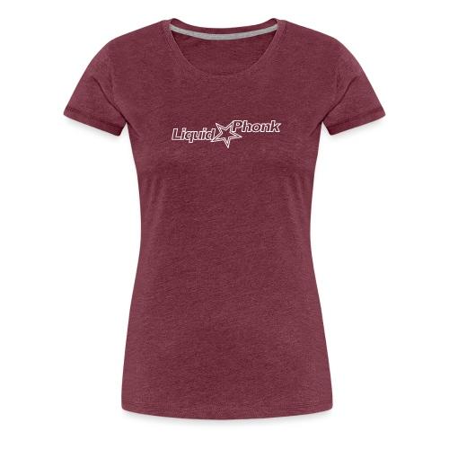 liquidphonk logo_white 99 - Women's Premium T-Shirt