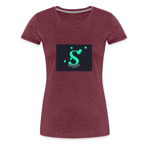 skitterYT - Premium-T-shirt dam