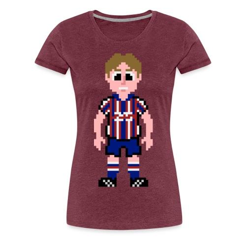 cowan front 2 png - Women's Premium T-Shirt
