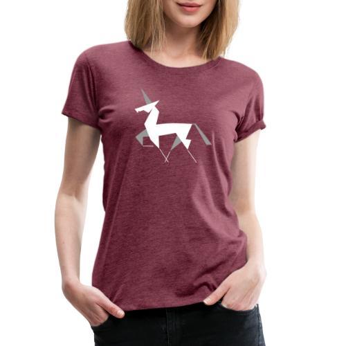 Steinhorn invers - Frauen Premium T-Shirt
