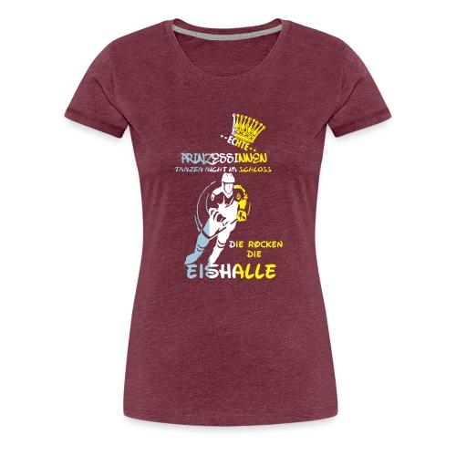 Eishockeyprinzessin - Frauen Premium T-Shirt
