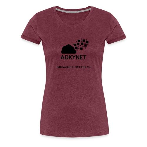 Logo version full noir - T-shirt Premium Femme