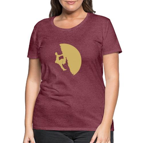 Tufa Kletterer gelb - Frauen Premium T-Shirt