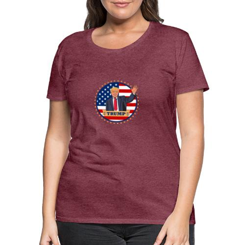 Trump - Frauen Premium T-Shirt