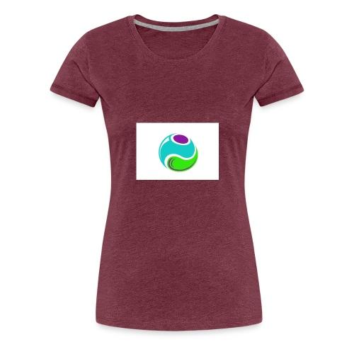 LOGO TEST2 - T-shirt Premium Femme