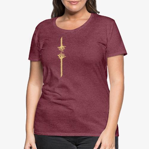 Geduldsfaden - Frauen Premium T-Shirt