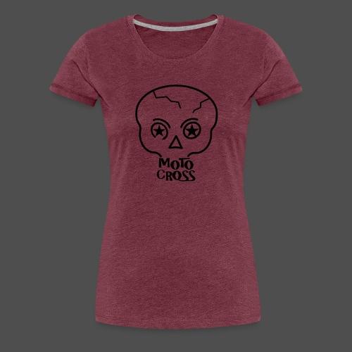 MX Skull No.5 - Frauen Premium T-Shirt